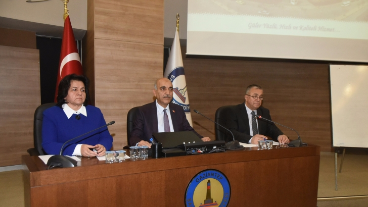 Şahinbey meclisi toplandı