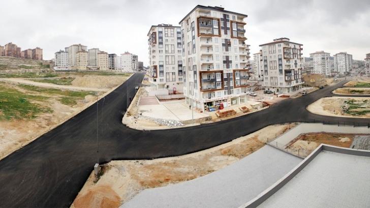 Seyrantepe mahallesinde asfaltsız yol kalmayacak
