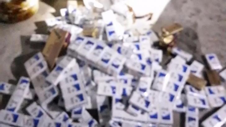 5 bin 770 paket kaçak sigara ele geçirildi