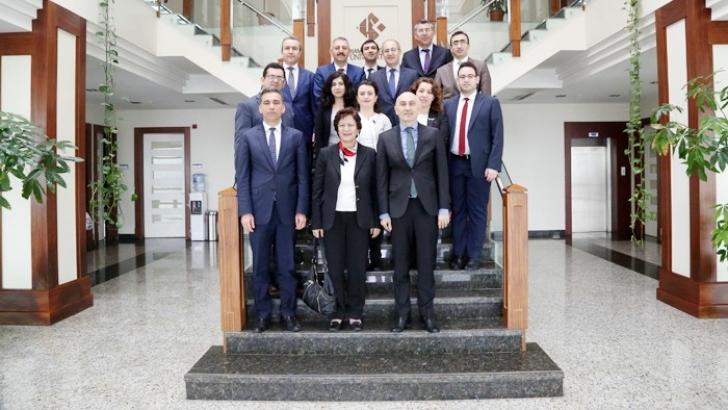 Müsteşar Yardımcısı Doç. Dr. Elife Ünal'ın HKÜ ziyareti