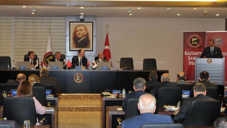 GSO'da meclis toplantısı yapıldı