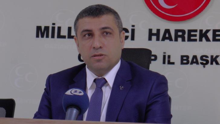 MHP Gaziantep'ten Türk Tabipler Birliğine tepki