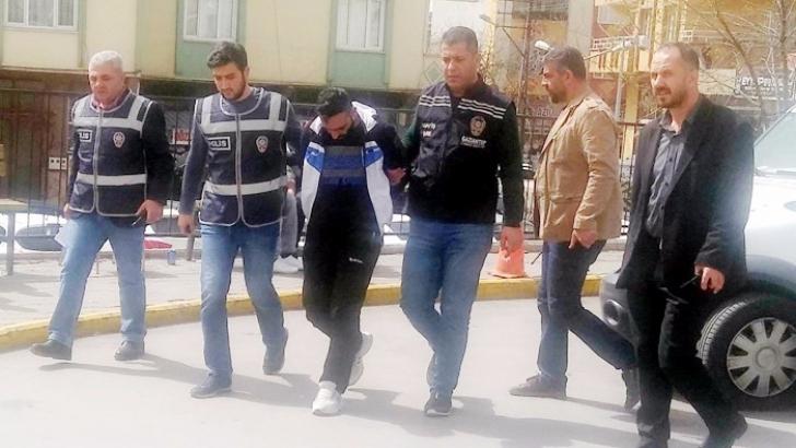 Suriyeli gaspçı yakalandı
