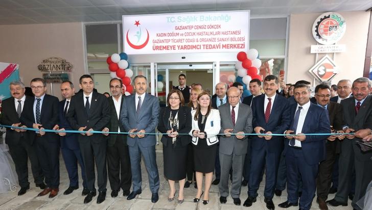 Gaziantep'te üremeye yardımcı tedavi merkezi açıldı