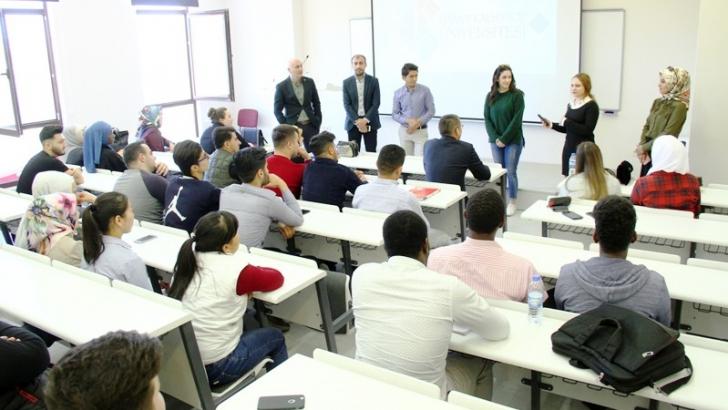 Uluslararası öğrenciler HKÜ'yü değerlendirdi