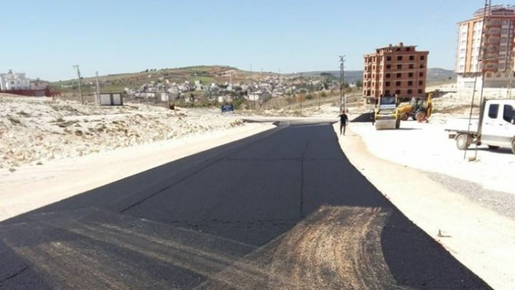 Şahinbey'de asfalt çalışmaları sürüyor