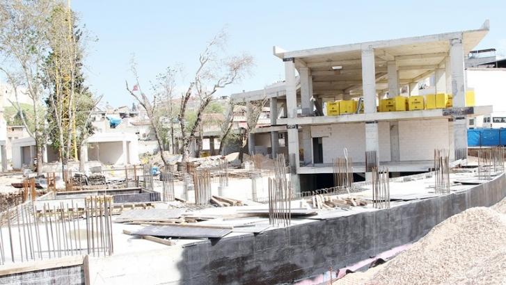 Panorama müzesi inşaatı yükseliyor