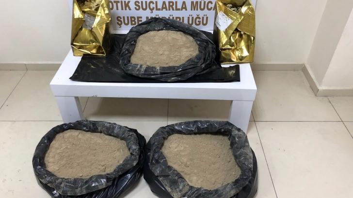 61 kilo 500 gram eroin ele geçirildi