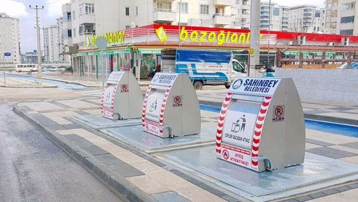 Şahinbey'de modern yeraltı çöp toplama sistemleri