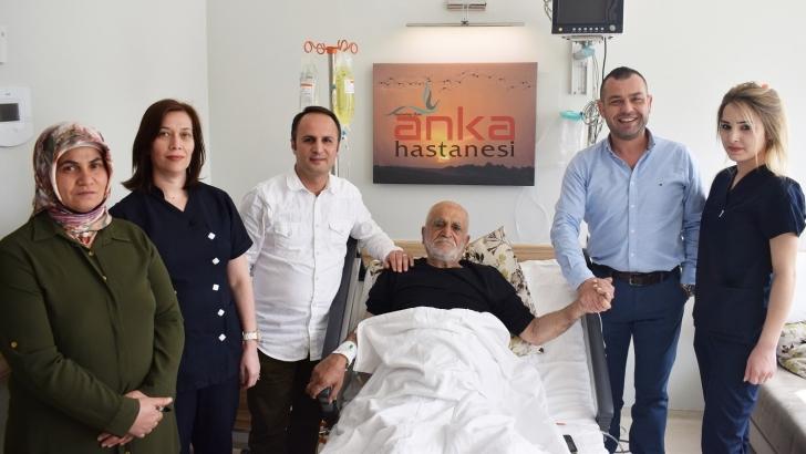 Anka Hastanesi'nde başarılı operasyon