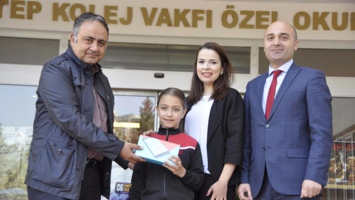 GKV'li Defne Borazan Resim yarışmasında il birincisi