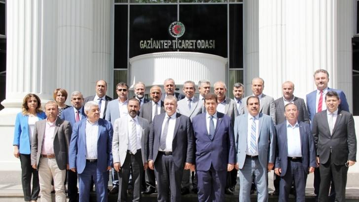 GTB'DEN, GTO VE GSO'YA ZİYARET
