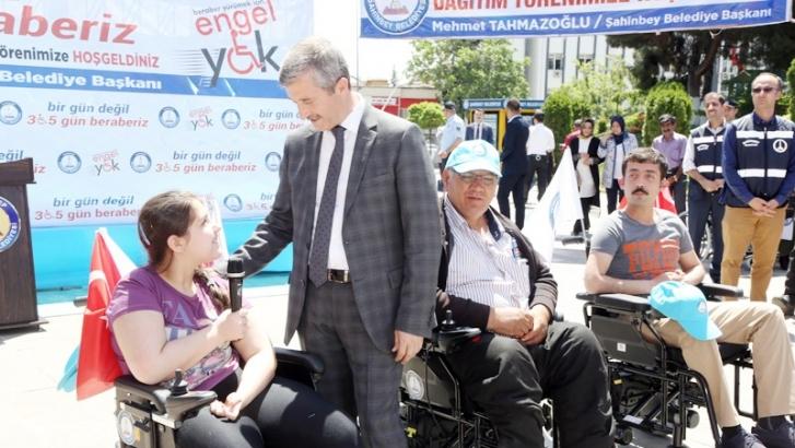 "Tahmazoğlu: ""Hepimiz engelli adayıyız"""