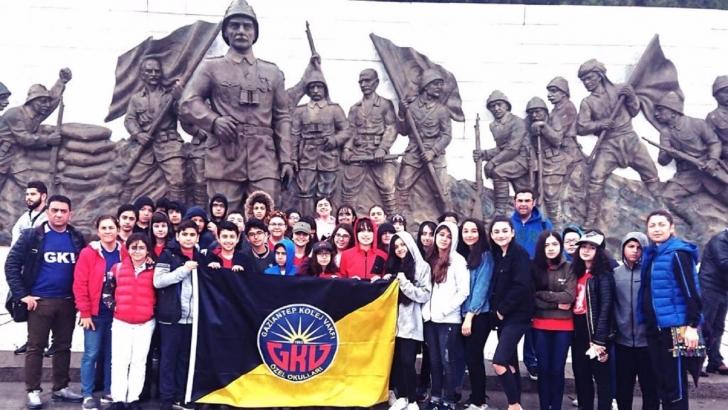 GKV'li öğrenciler Çanakkale'de