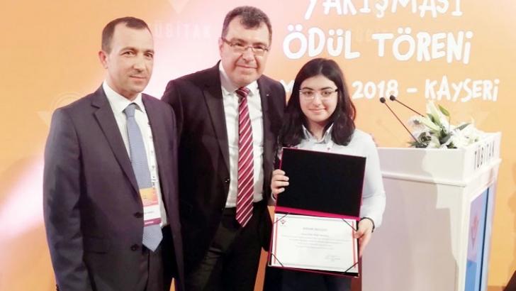 Sanko öğrencisi Türkiye birincisi