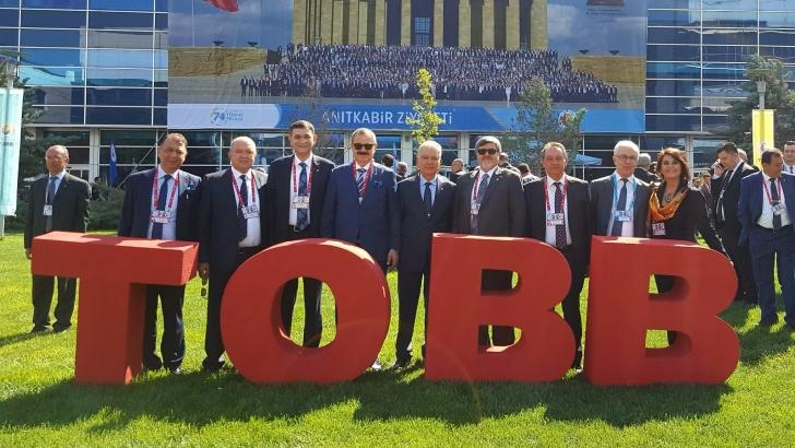 GSO DELEGELERİ TOBB GENEL KURULU'NA KATILDI