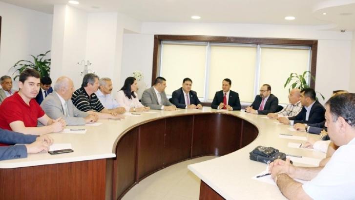 CHP'li adaylardan İMO'ya ziyaret