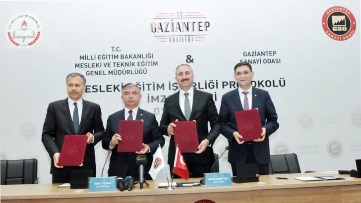 """""""Mesleki Eğitim İşbirliği Protokolü"""" imzalandı"""