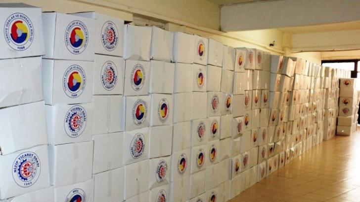 NTO'dan 925 aileye ramazan yardımı