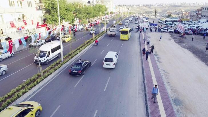 Şahinbey Belediyesi'nden trafiği rahatlatan dev proje