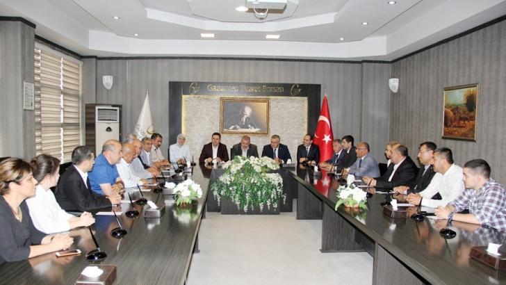 MHP MİLLETVEKİLİ ADAYLARINDAN GTB'YE ZİYARET