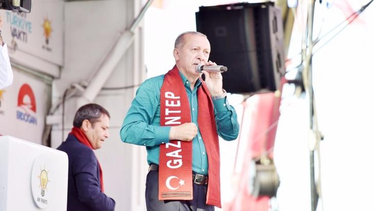 Erdoğan Gazianteplilerle buluştu