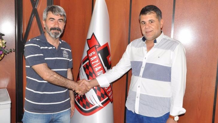 Gaziantepspor'da sportif direktör Hasan Basut oldu