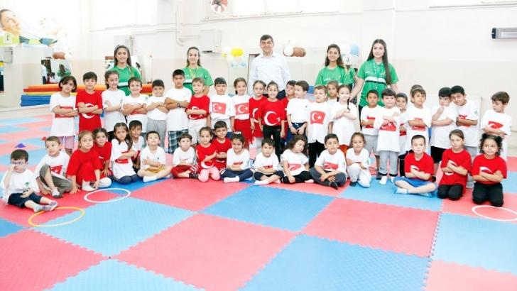 Şehitkamil'de yaz spor okulları dolu dolu geçiyor