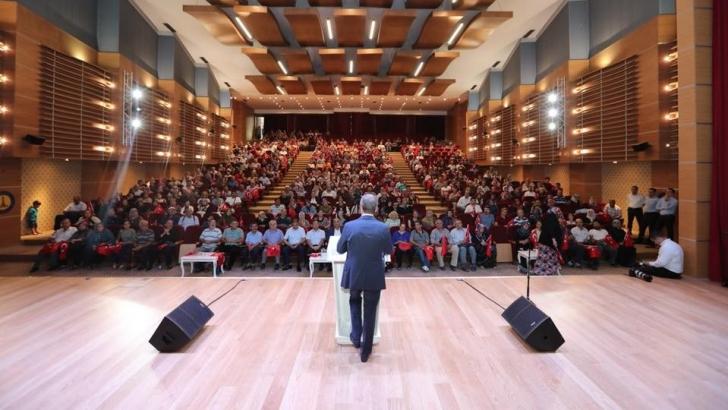 Tahmazoğlu, Halk Günü'nde vatandaşlarla bir araya geldi