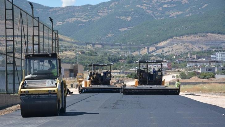 Nurdağı'nda yollar asfaltyanıyor