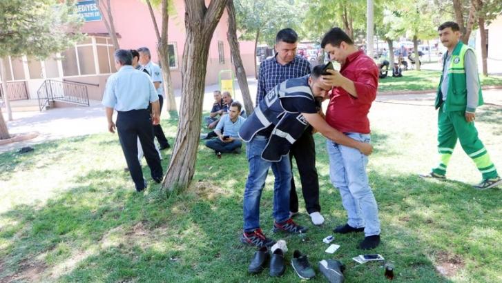 Polisten Suriyeli denetimi