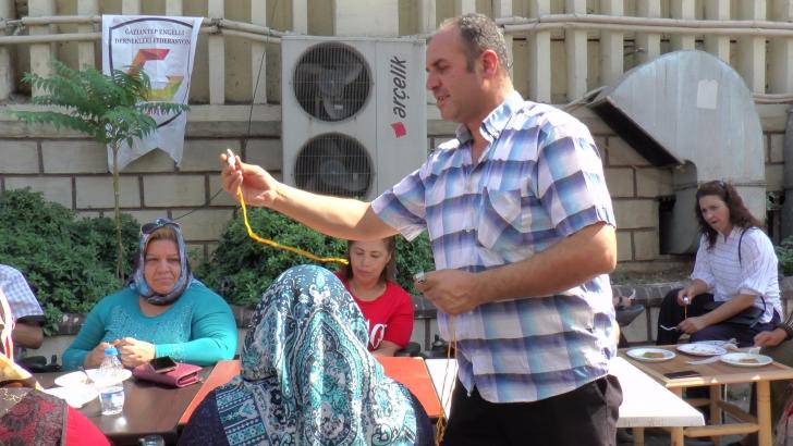 Engellilerden 'Kırmızı Düdük' projesine destek