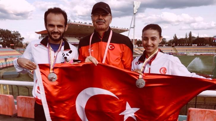 Büyükşehir'in sporcusu Avrupa 3'cüsü oldu