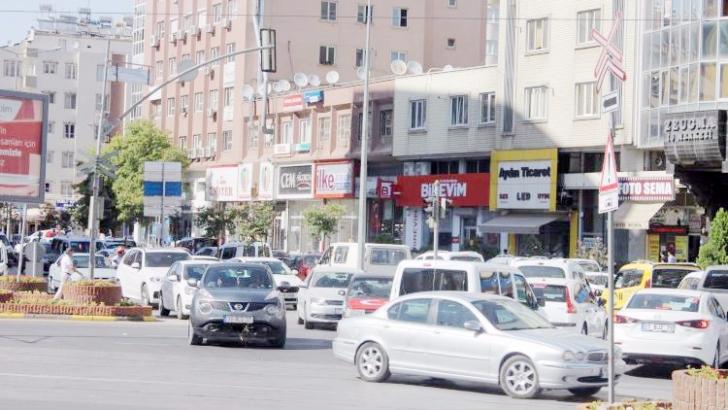 Gaziantep'te yarım milyon araç var