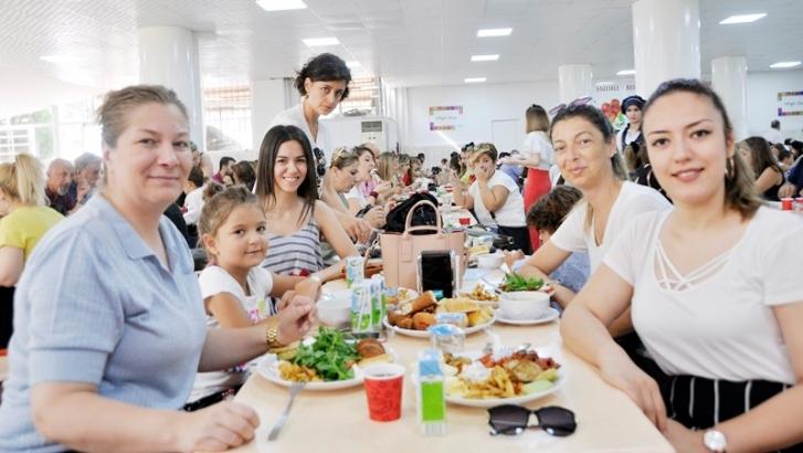 Gaziantep Kolej Vakfı ailesi kahvaltıda buluştu