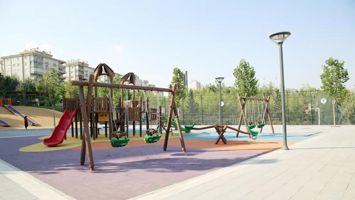 Güvenevler'deki parkın yapımı tamamlandı