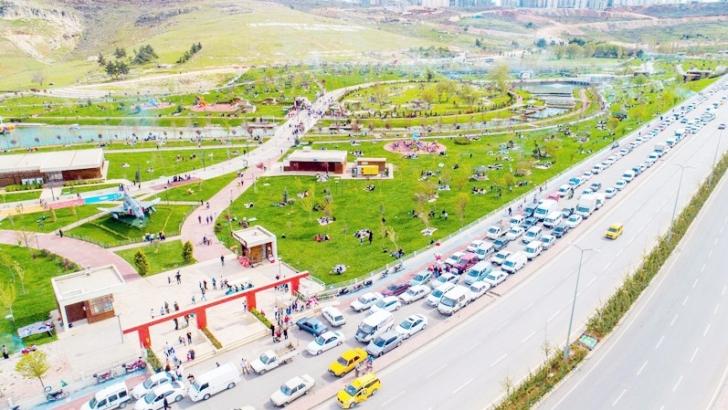 Şahinbey'de 606 park yapıldı