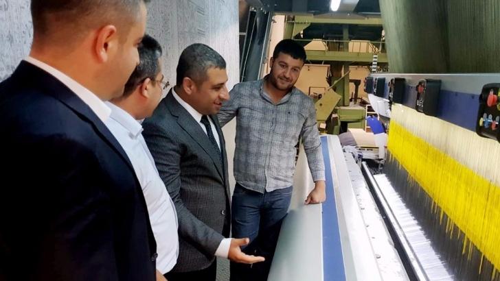 Taşdoğan, sanayici ve esnafı ziyaret etti