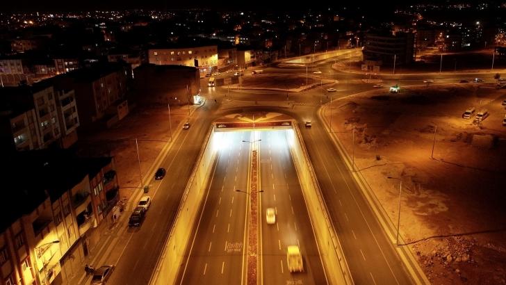 Köprülü kavşak, bölge trafiğini rahatlattı