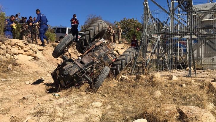 Gaziantep'te traktör devrildi: 1 ölü