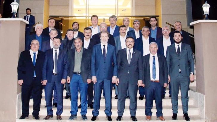 AK Parti Şehitkamil'den MÜSİAD'a ziyaret