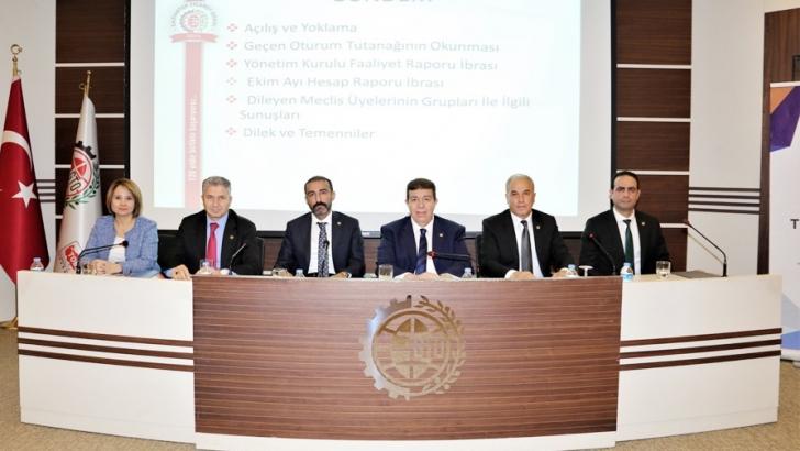 GTO meclisi toplandı