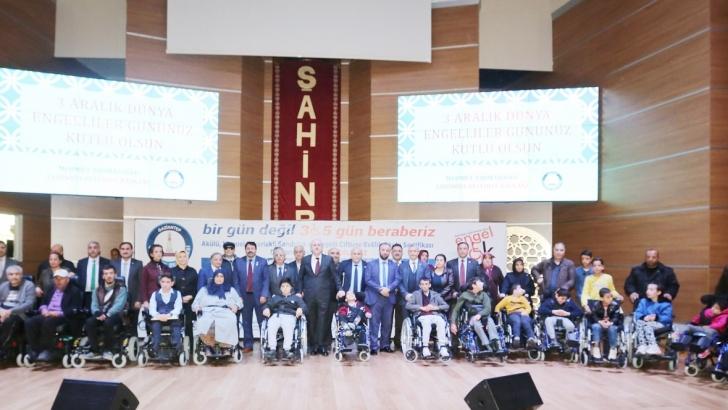 Şahinbey Belediyesi'nden 34 adet akülü ve manuel tekerlekli sandalye