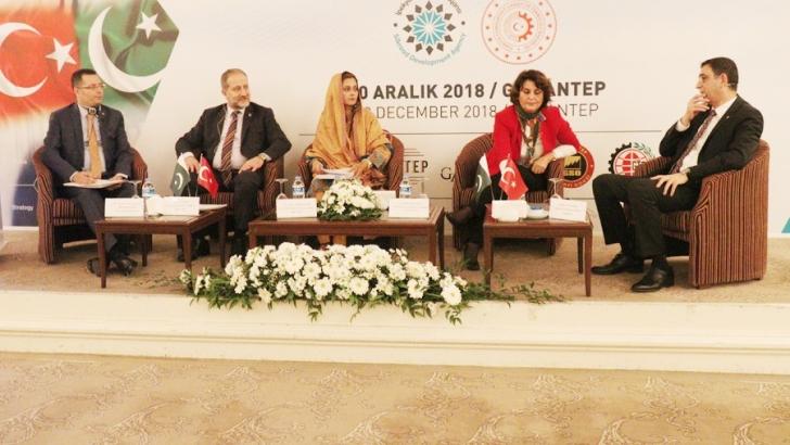 Türkiye Pakistan İş Forumu-Gaziantep Yatırım Zirvesi düzenlendi