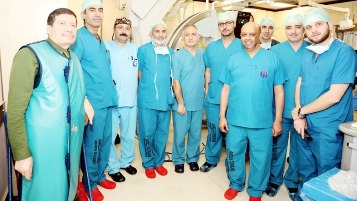 GAÜN'de yabancı doktorlara eğitim