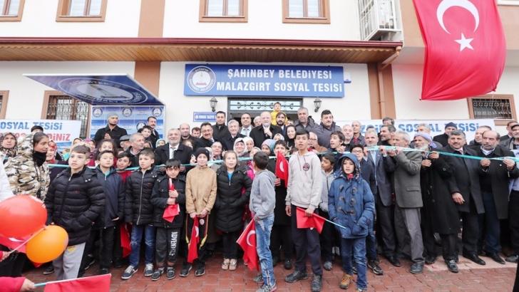 BİR SOSYAL TESİS DE MALAZGİRT MAHALLESİ'NE