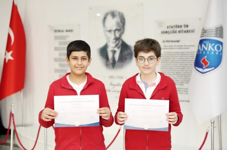 SANKO öğrencileri Türkiye dördüncüsü oldu