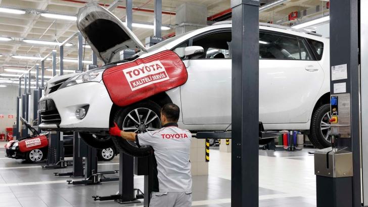 Toyota'dan yaza özel servis avantajları