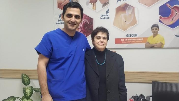 20 yıllık şeker hastası şifayı Anka'da buldu