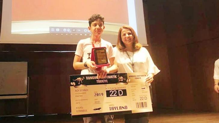 Seçkinli öğrenciden Türkiye birinciliği